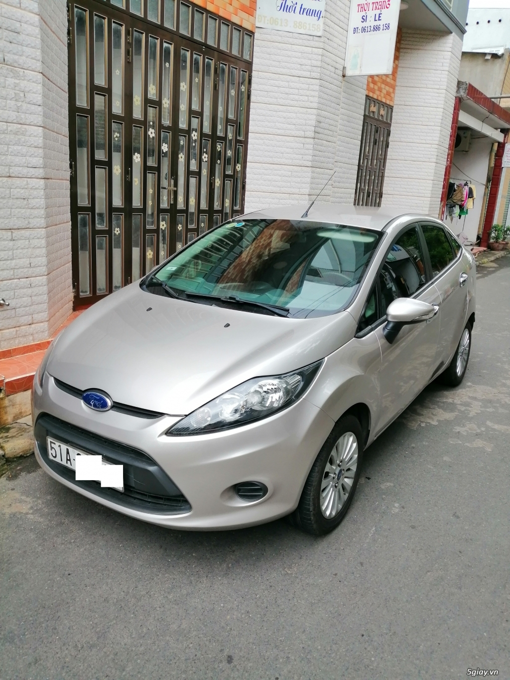 Xe	Ford Fiesta	1.6 AT	2013	-GHINA - 4