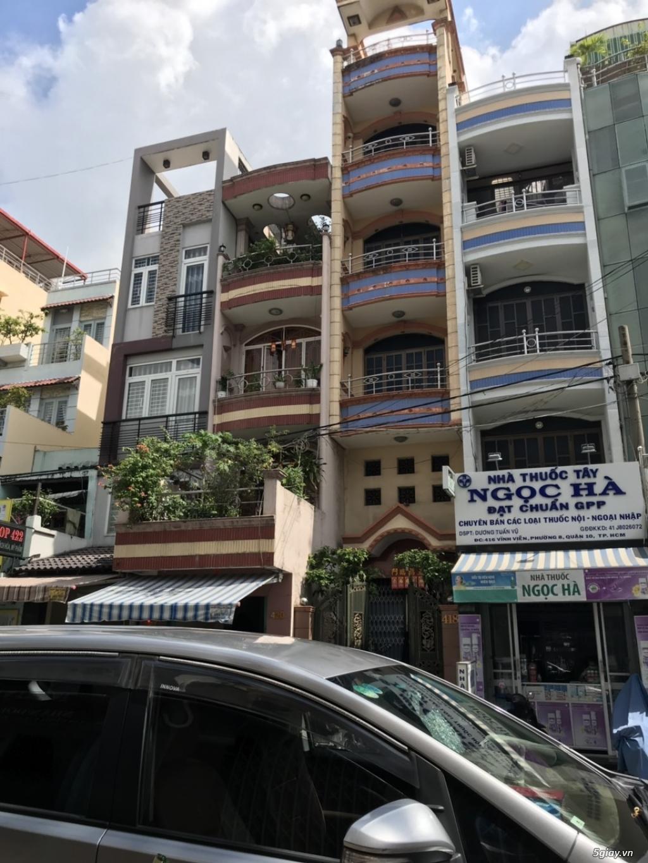 thua độ đá banh tôi bán gấp nhà 1 trệt 3 lầu 168m2 mặt tiền Bà Hom Bìn - 2