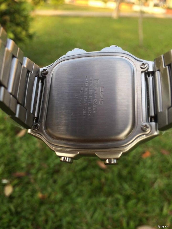 Đồng hồ casio ae1200 bản kim loại kết thúc 22h00 ngày 13/06/2019 - 2
