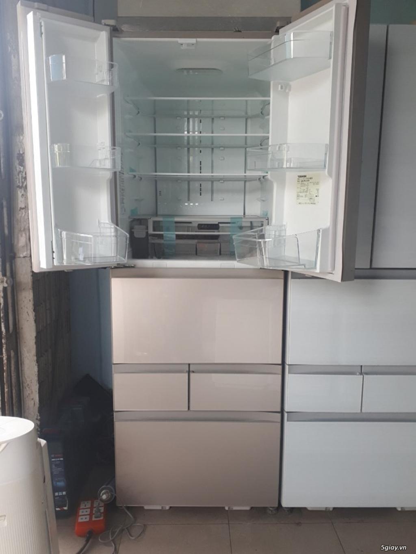 Tủ lạnh TOSHIBA GR-P510FW 508L date 2018, Hàng Trưng bày, Menu cảm ưng - 1