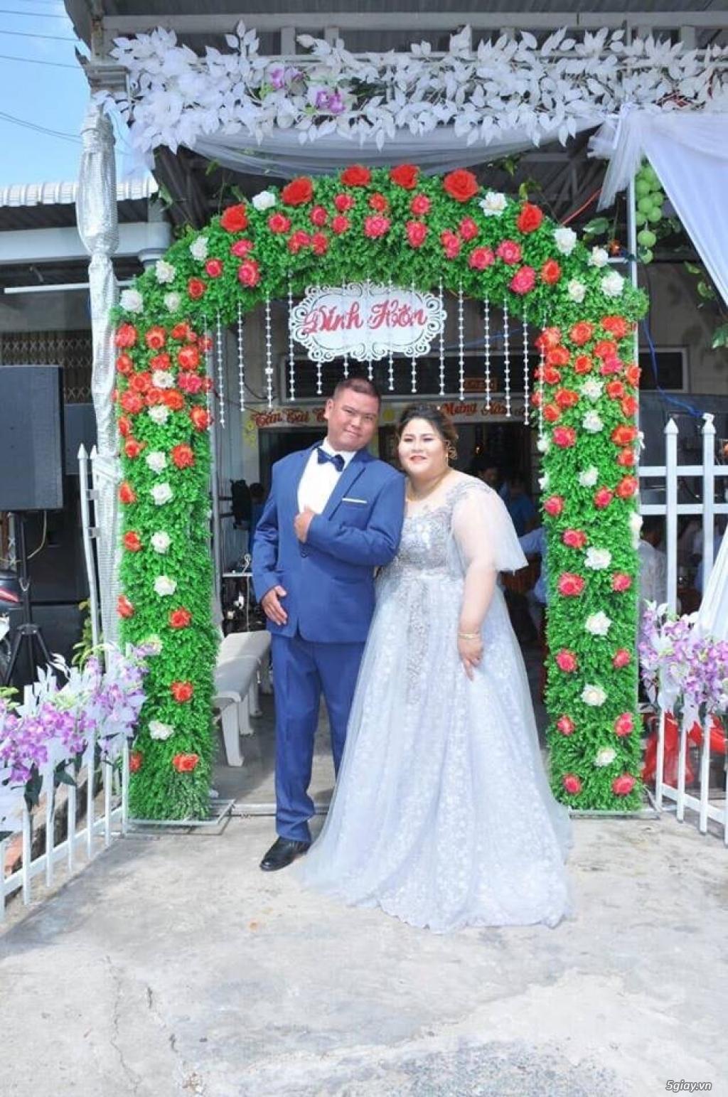 Áo cưới áo vest ngoại cỡ Tròn Xinh - 4