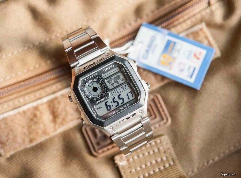 Đồng hồ casio ae1200 bản kim loại kết thúc 22h00 ngày 13/06/2019 - 1