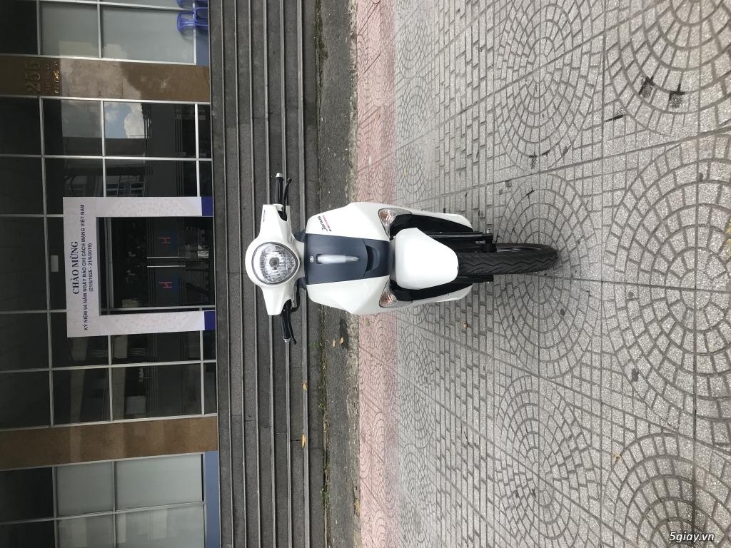 Janus trắng xanh primeum edition smartkey odo 2000km mới 99% - 7