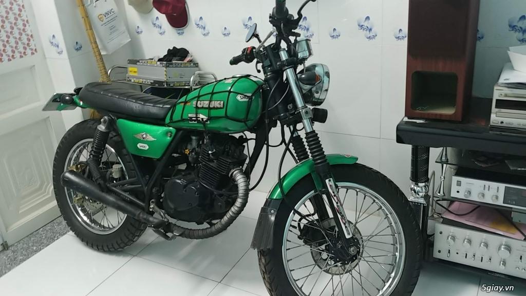 Cần bán : suzuki tracker GN125 moto giá rẻ - 1