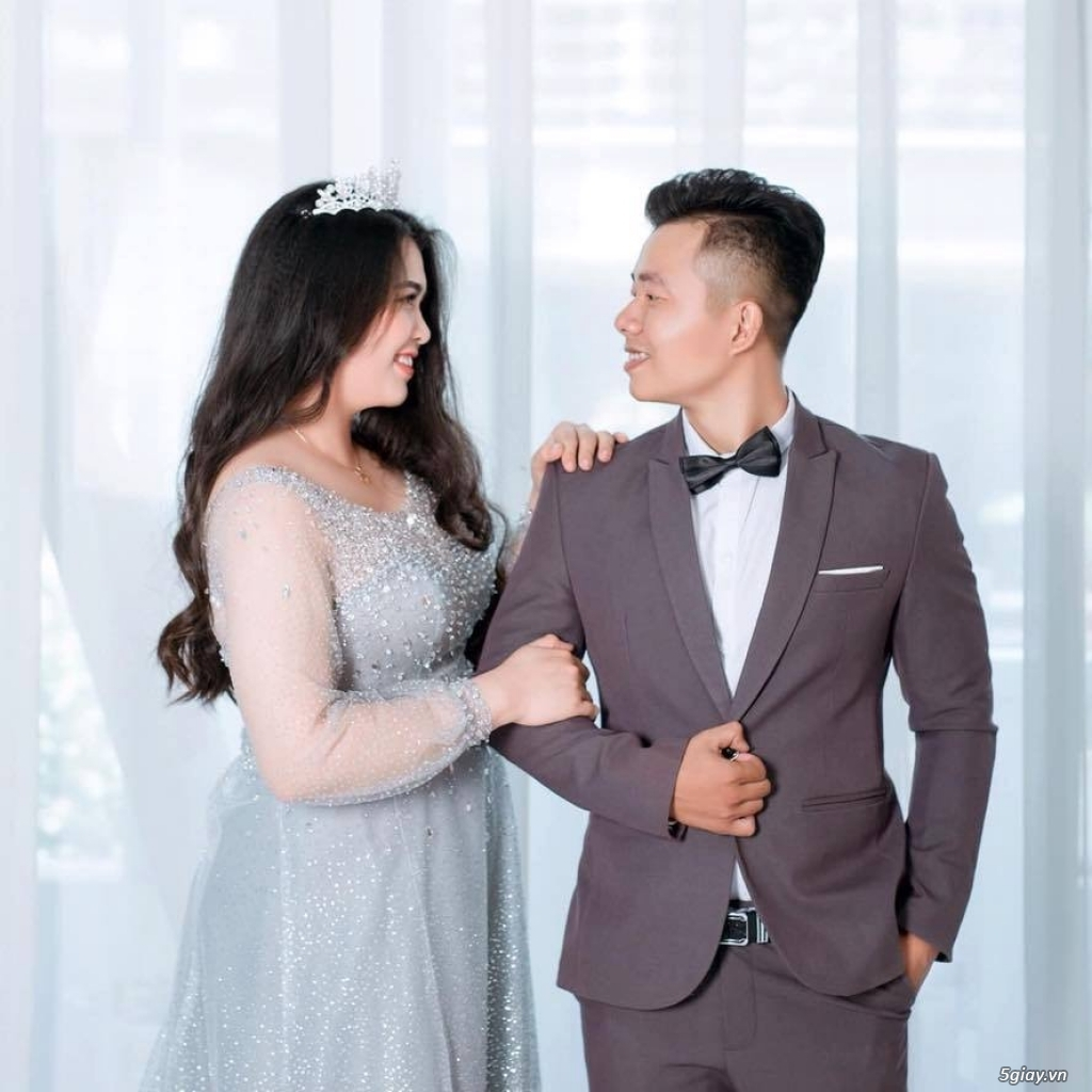 Áo cưới áo vest ngoại cỡ Tròn Xinh - 1