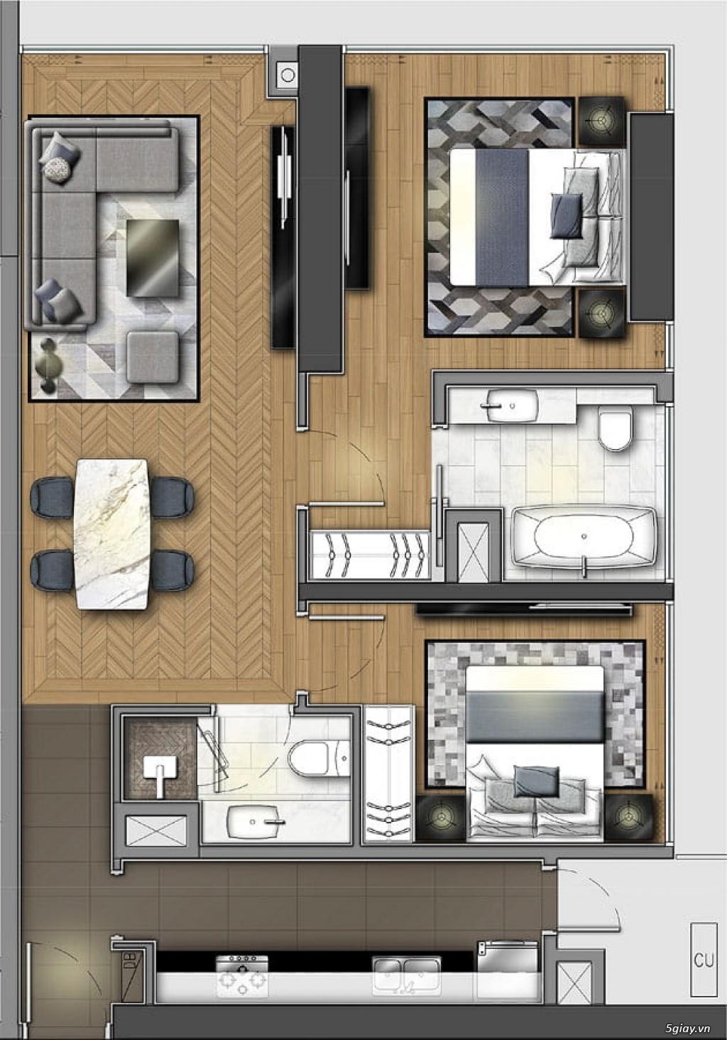 Bán căn hộ 2 phòng ngủ dự án condotel Wyndham Soleil Đà Nẵng