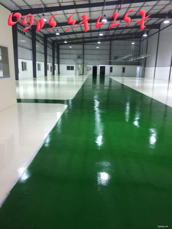 sơn epoxy sàn công nghiệp thi công tại đà nẵng