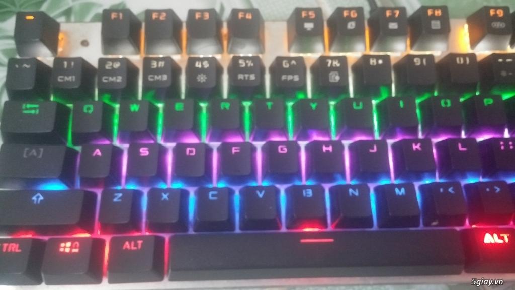 Zero Mechanical Keyboard LED Backlit CHO GAME THỦ.E 23h00 14/06/19 - 2