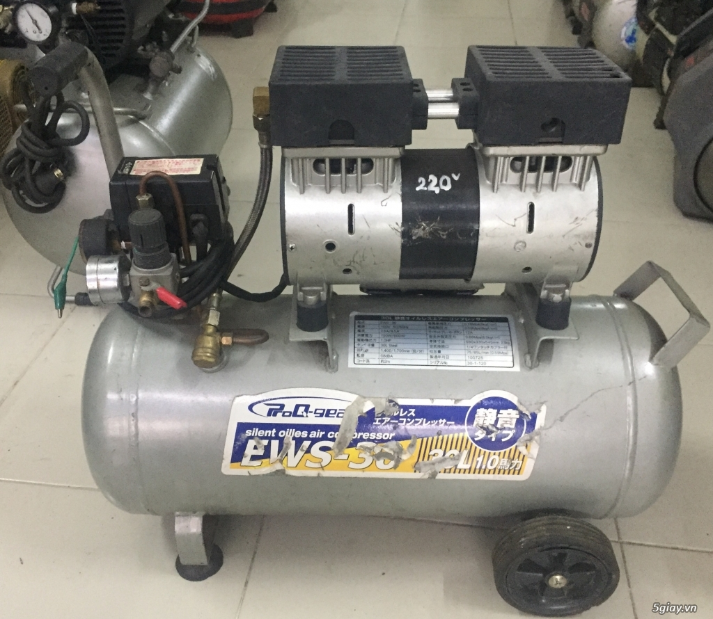 Máy nén khí mini dân dụng xuất xứ Nhật - 2