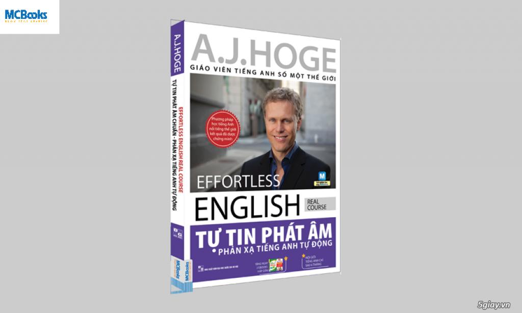 Chọn sách hay cho người học tiếng Anh:Effortless - Phản xạ tiếng Anh tự động