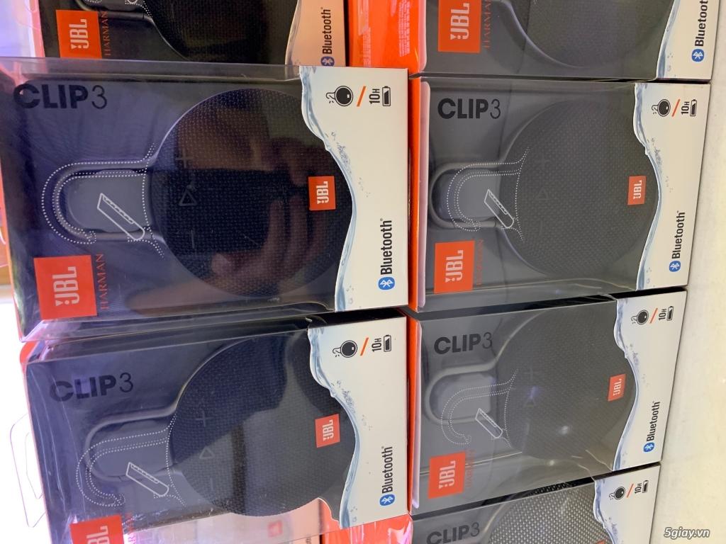 Loa JBL Clip 3. Hàng nhập Mỹ chính hãng mới nguyên seal giá cực sốc - 2