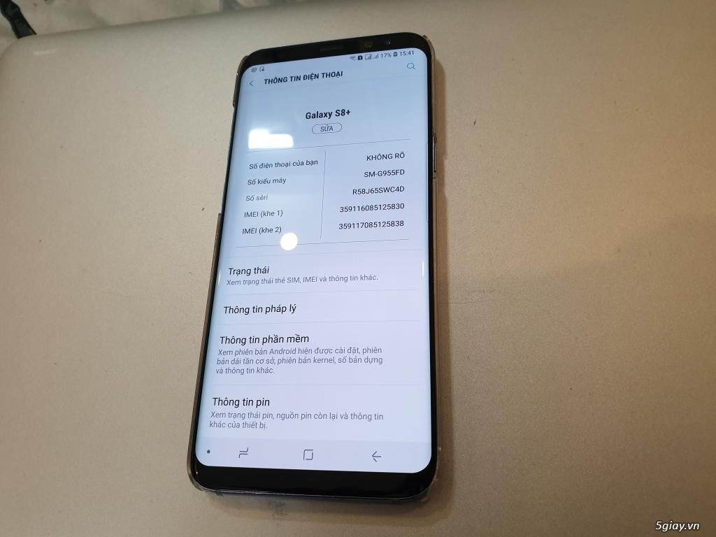 Cần Bán 1 e Galaxy S8+ 64G - 1