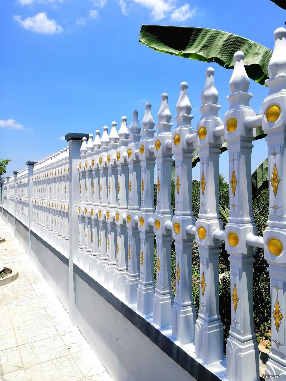Hàng rào bê tông Tài Phú 6 hai thanh luồng - 1