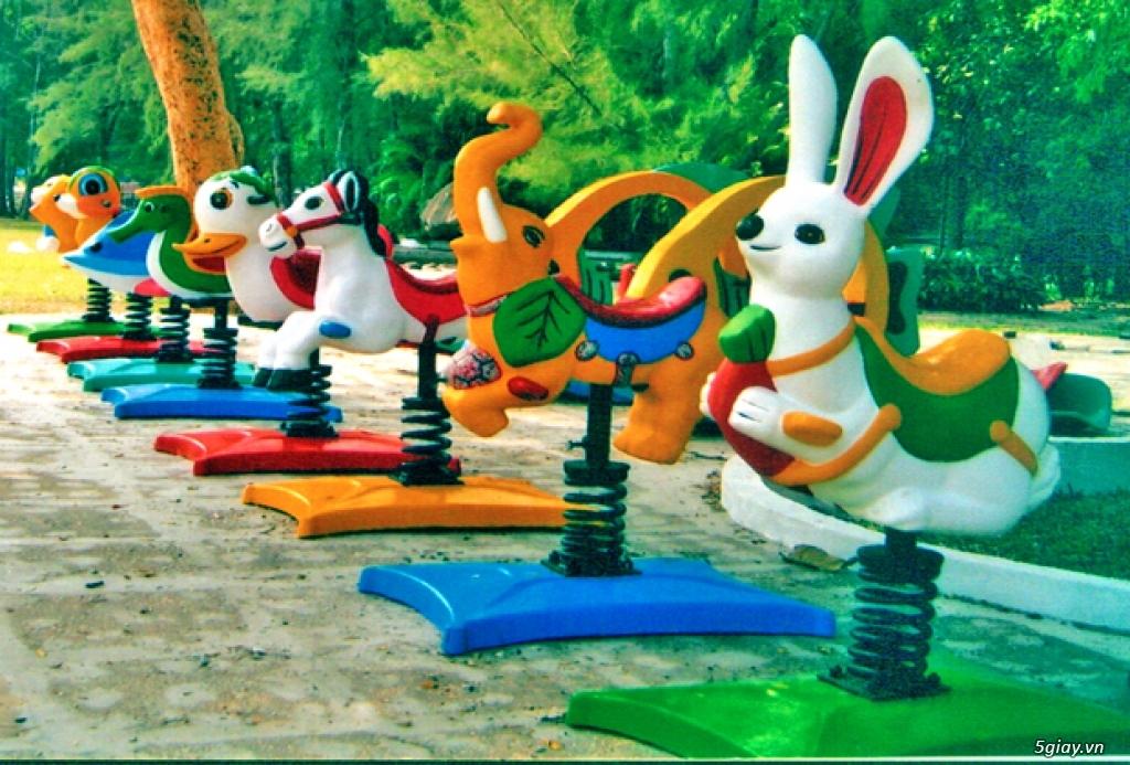 Thú nhún lò xo - đồ chơi trẻ em - 1