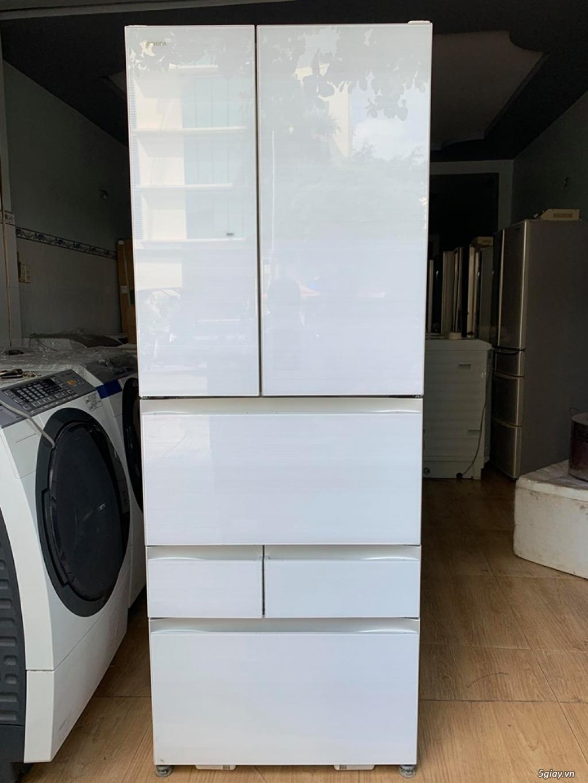 Tủ lạnh toshiba GR-P610FW sản xuất năm 2018 , CÒN MỚI 100%, Hàng không