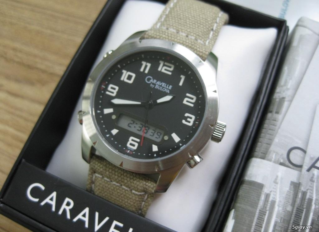 Đồng hồ chính hãng của Mỹ dư xài máy pin Quazt , máy tự động Automatic
