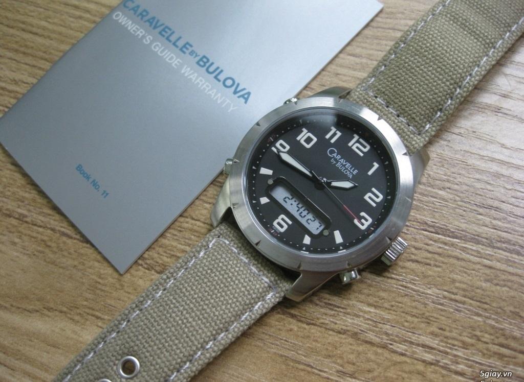 Đồng hồ chính hãng của Mỹ dư xài máy pin Quazt , máy tự động Automatic - 2