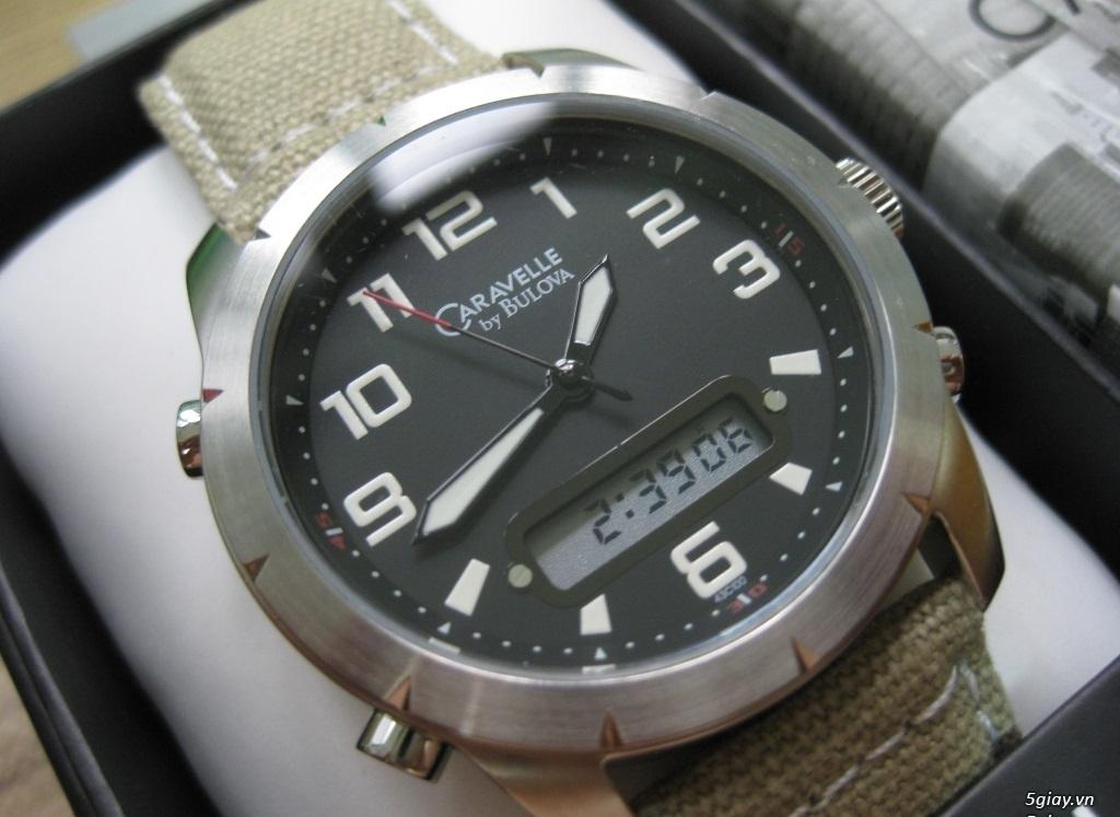 Đồng hồ chính hãng của Mỹ dư xài máy pin Quazt , máy tự động Automatic - 1