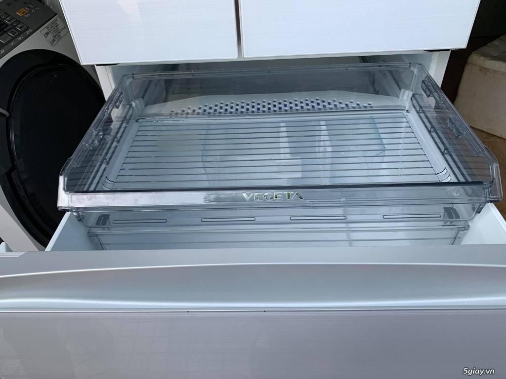 Tủ lạnh toshiba GR-P610FW sản xuất năm 2018 , CÒN MỚI 100%, Hàng không - 4