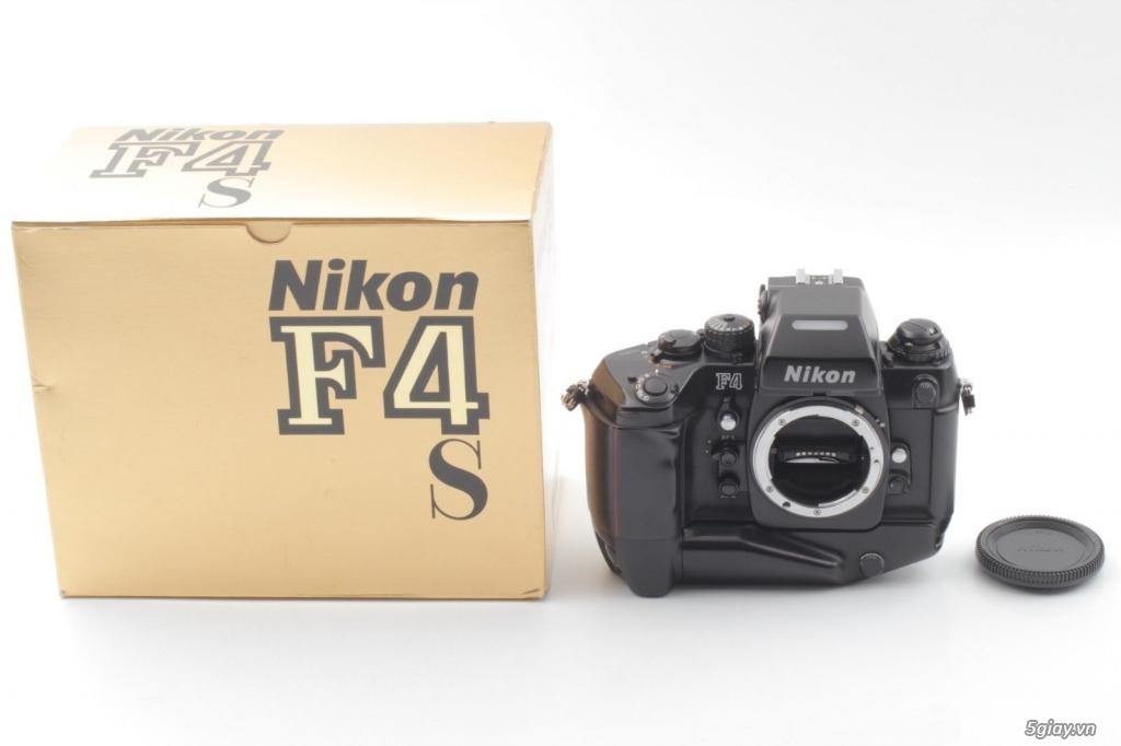 Bán: Nikon F4s đi kèm hộp zin (đúng số series) rất hiếm - bản sưu tập - 1