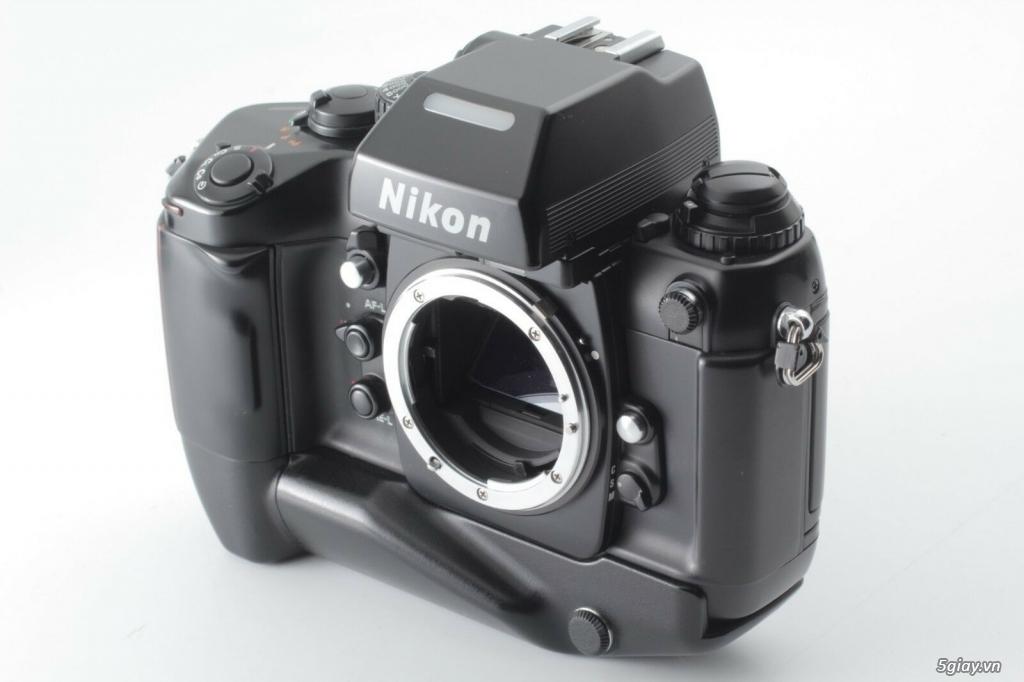 Bán: Nikon F4s đi kèm hộp zin (đúng số series) rất hiếm - bản sưu tập - 3