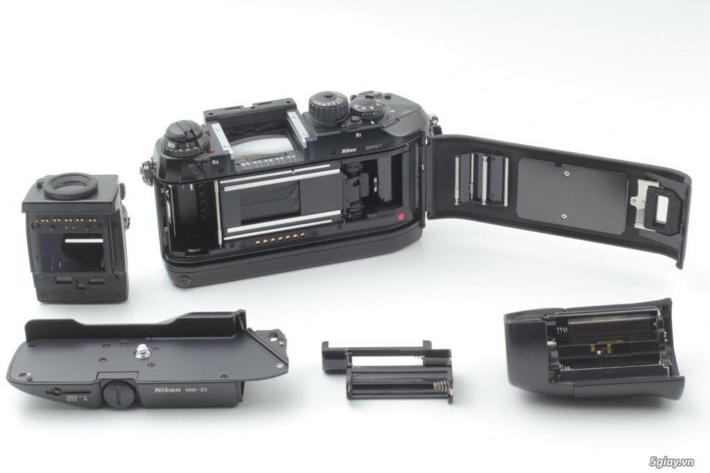 Bán: Nikon F4s đi kèm hộp zin (đúng số series) rất hiếm - bản sưu tập - 4