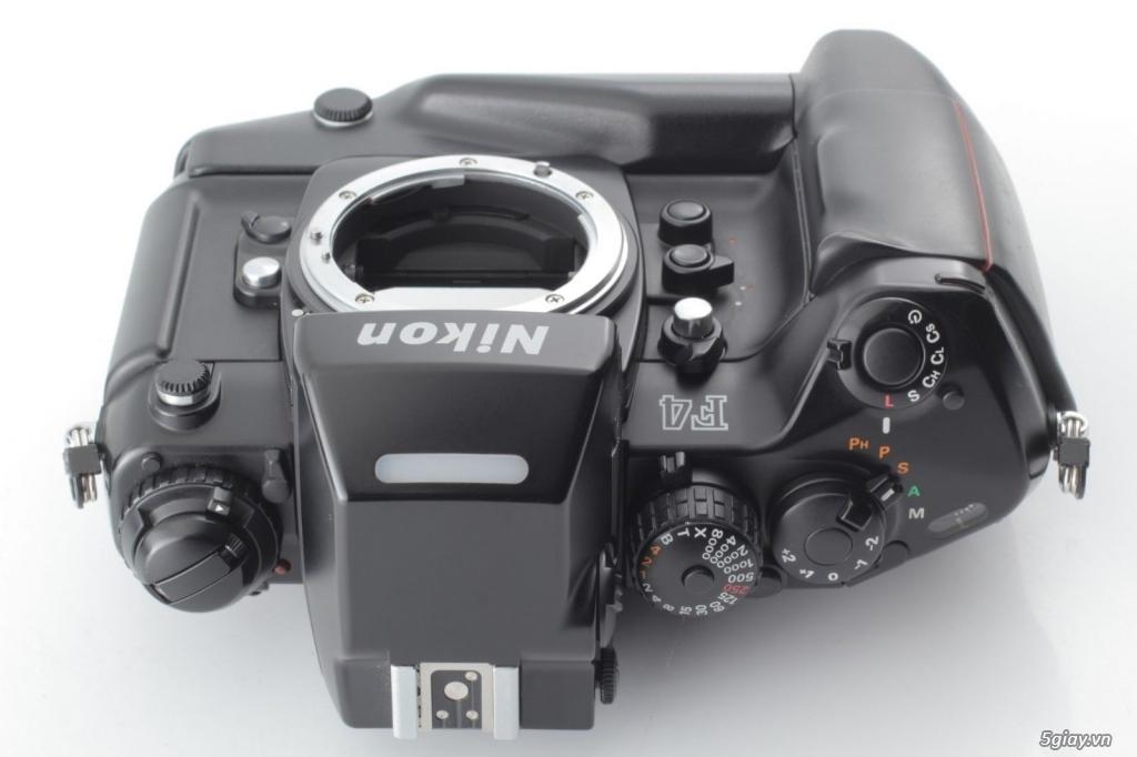 Bán: Nikon F4s đi kèm hộp zin (đúng số series) rất hiếm - bản sưu tập - 8