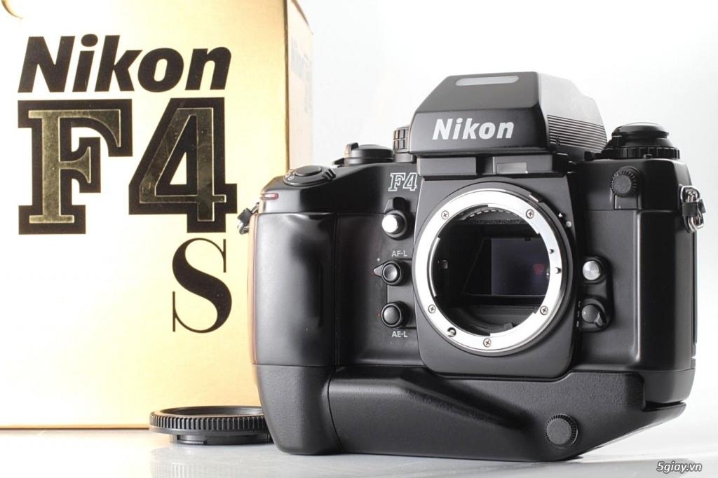 Bán: Nikon F4s đi kèm hộp zin (đúng số series) rất hiếm - bản sưu tập