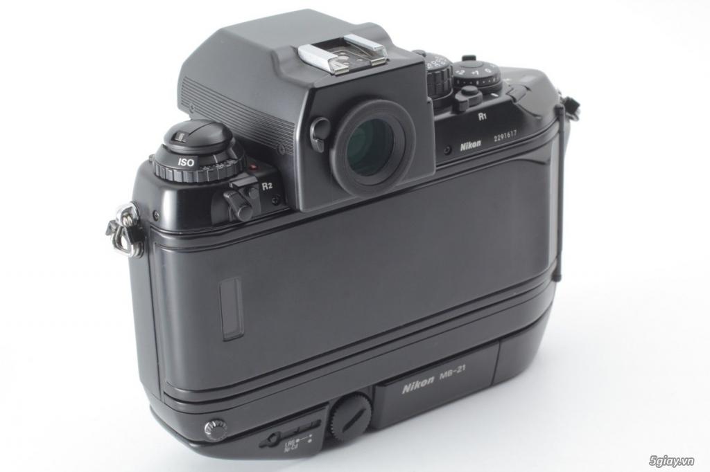 Bán: Nikon F4s đi kèm hộp zin (đúng số series) rất hiếm - bản sưu tập - 7