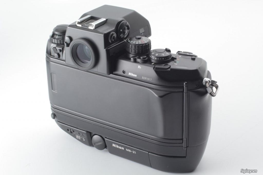 Bán: Nikon F4s đi kèm hộp zin (đúng số series) rất hiếm - bản sưu tập - 5
