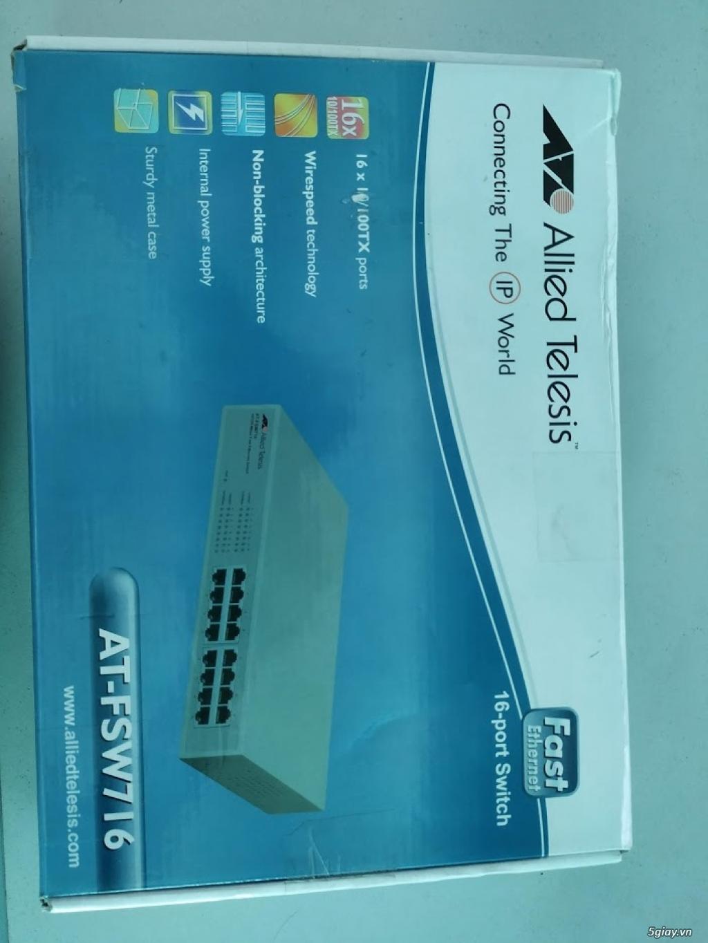 Thanh lý Switch AT-FSW716 16-port giá rẻ - 2