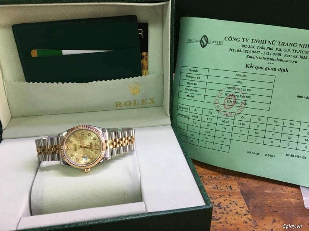 Chuyên Rolex bọc vàng 18k,độ máy chính hãng,kim cương - 48
