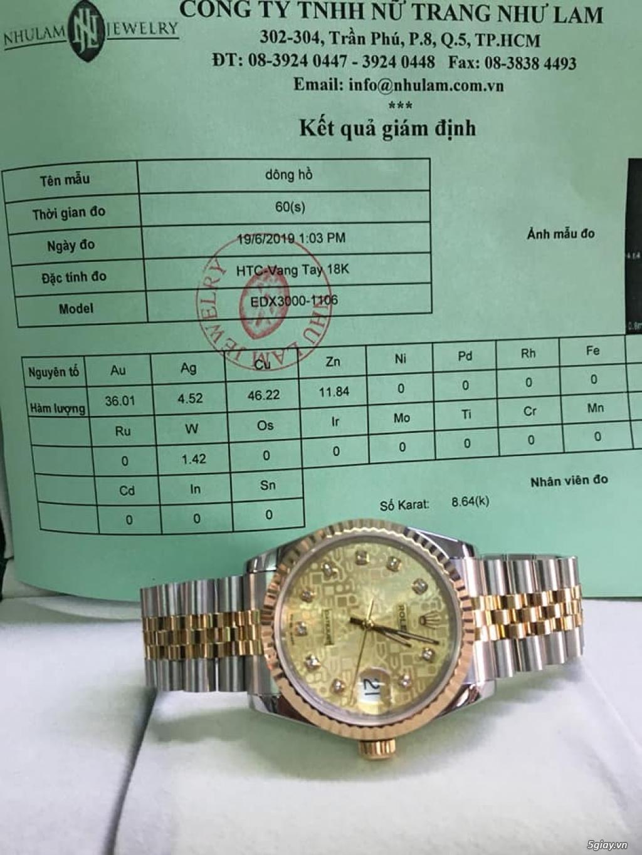 Chuyên Rolex bọc vàng 18k,độ máy chính hãng,kim cương - 49