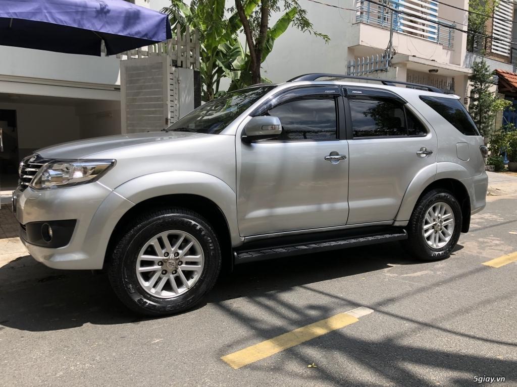 Bán Toyota fortuner 2.7, 4x4, xăng, ít đi 34,600 km