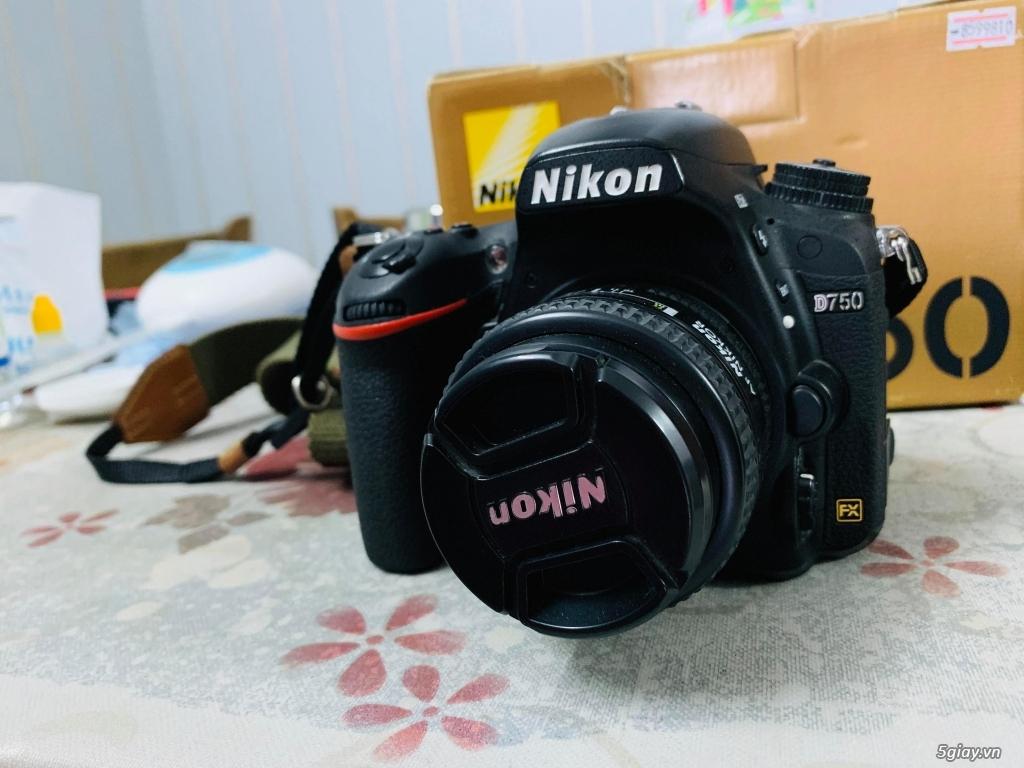 Nikon D750 + lens 50mm f1.4D 14k shot