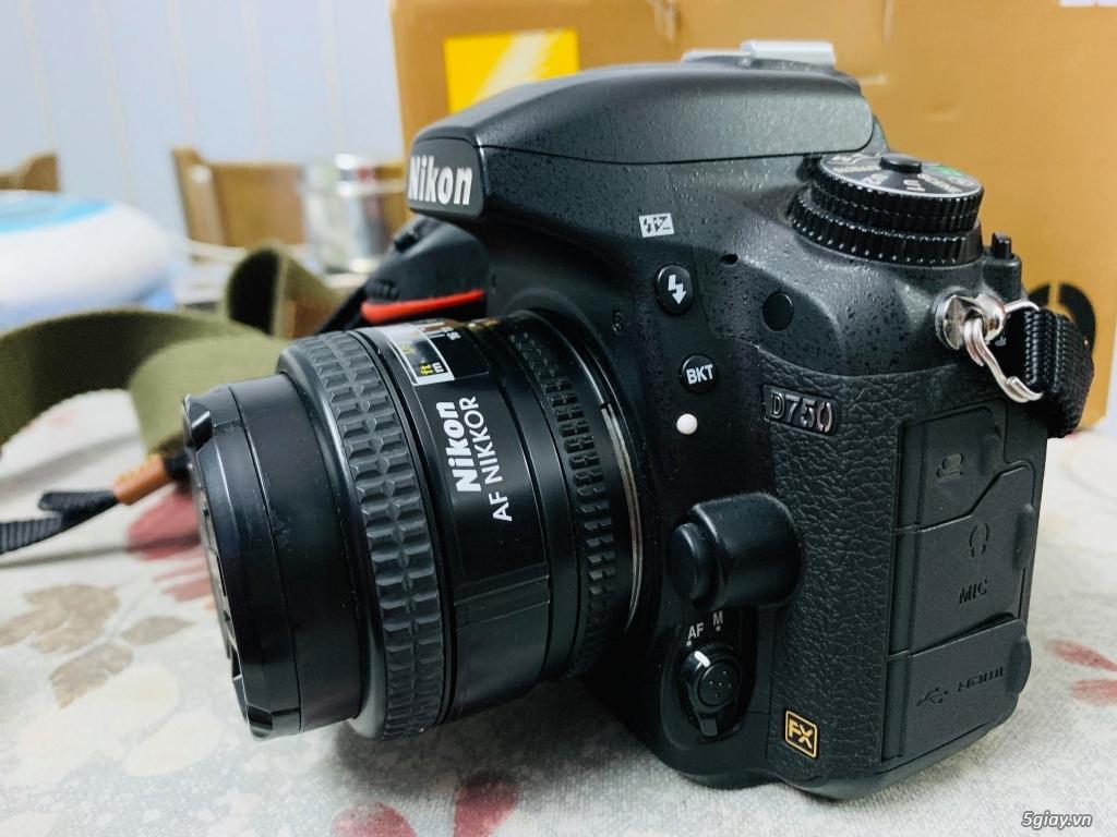 Nikon D750 + lens 50mm f1.4D 14k shot - 1