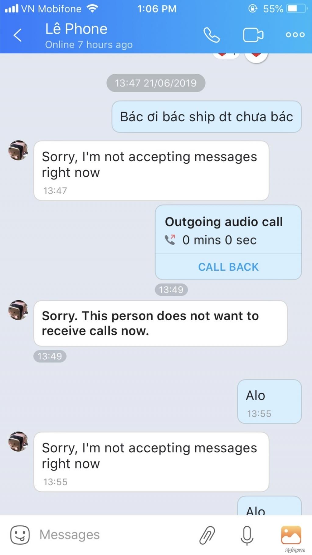 Bán Iphone lừa đảo, nick 5 giây cấp 4: manzit - 2
