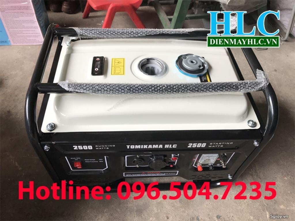 Tomikama HLC 2500 máy phát điện chạy xăng Nhật bản - 3