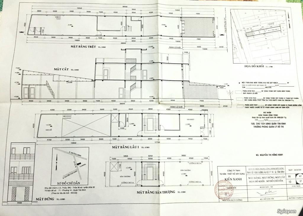 Cần cho thuê nhà nguyên căn đường Âu Cơ 4,2 x 39m, nở hậu - 5