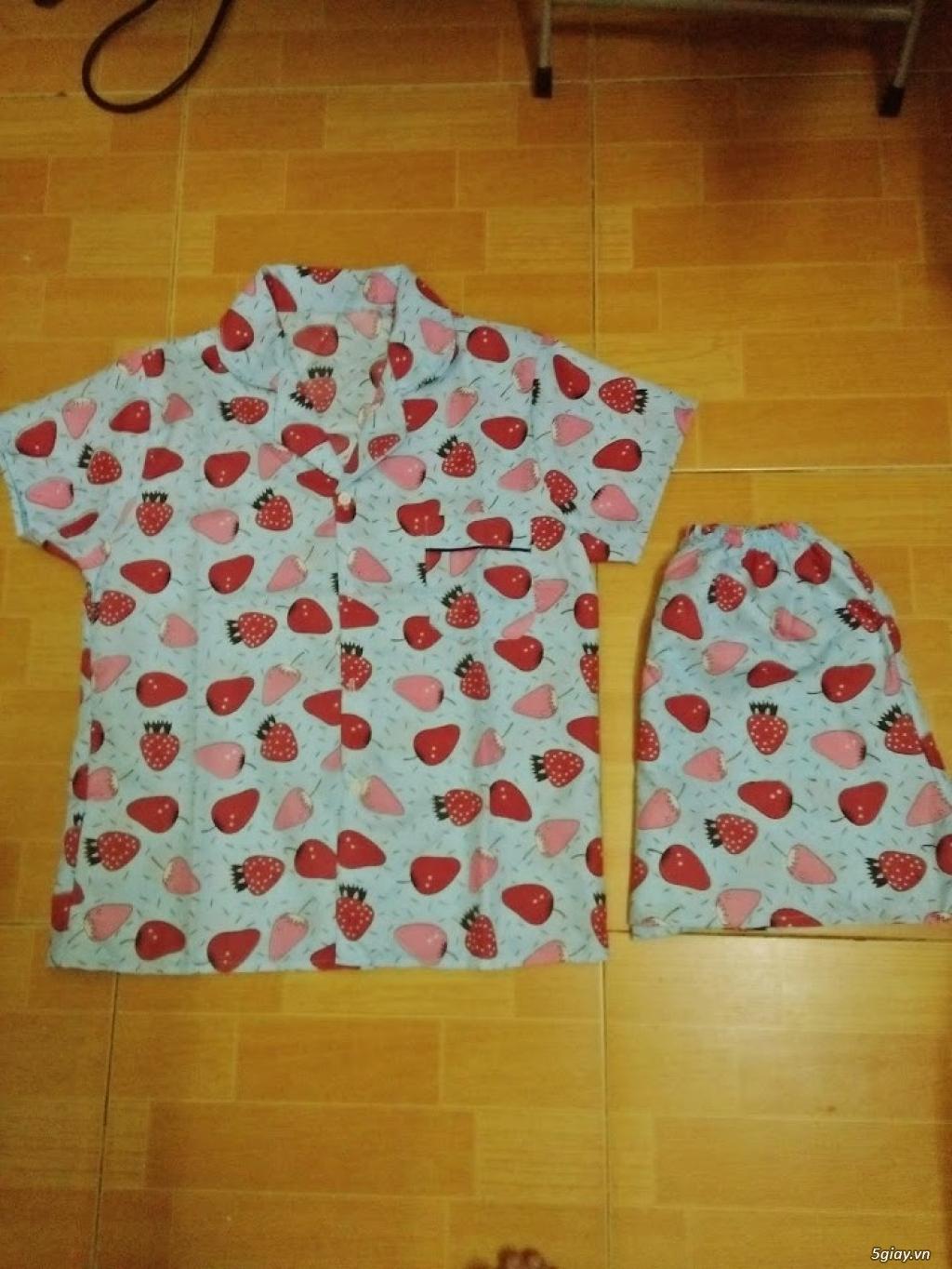 Xả kho 30 bộ Pijama cộc tay freesize chất đẹp giá chỉ 45k/bộ - 3