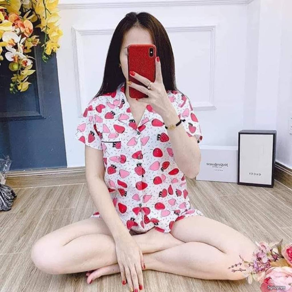 Xả kho 30 bộ Pijama cộc tay freesize chất đẹp giá chỉ 45k/bộ - 6