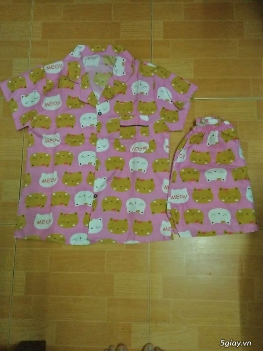 Xả kho 30 bộ Pijama cộc tay freesize chất đẹp giá chỉ 45k/bộ - 4