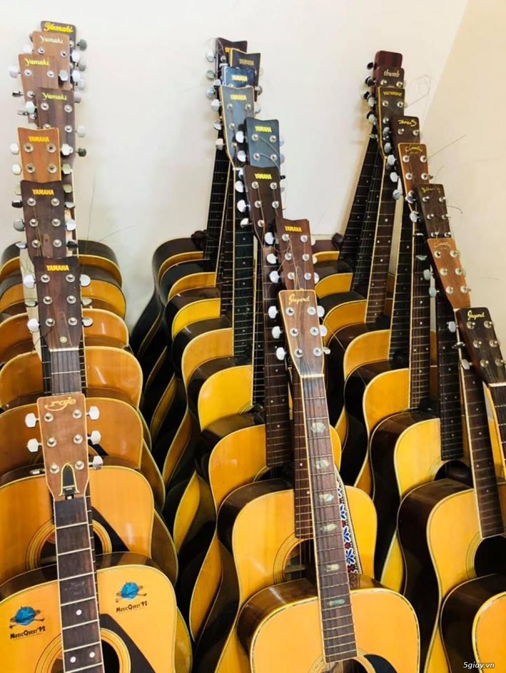 Đàn Guitar Nhật Cũ Từ 800k Giá Rẻ Sài Gòn , Ship Code Toàn Quốc - 7
