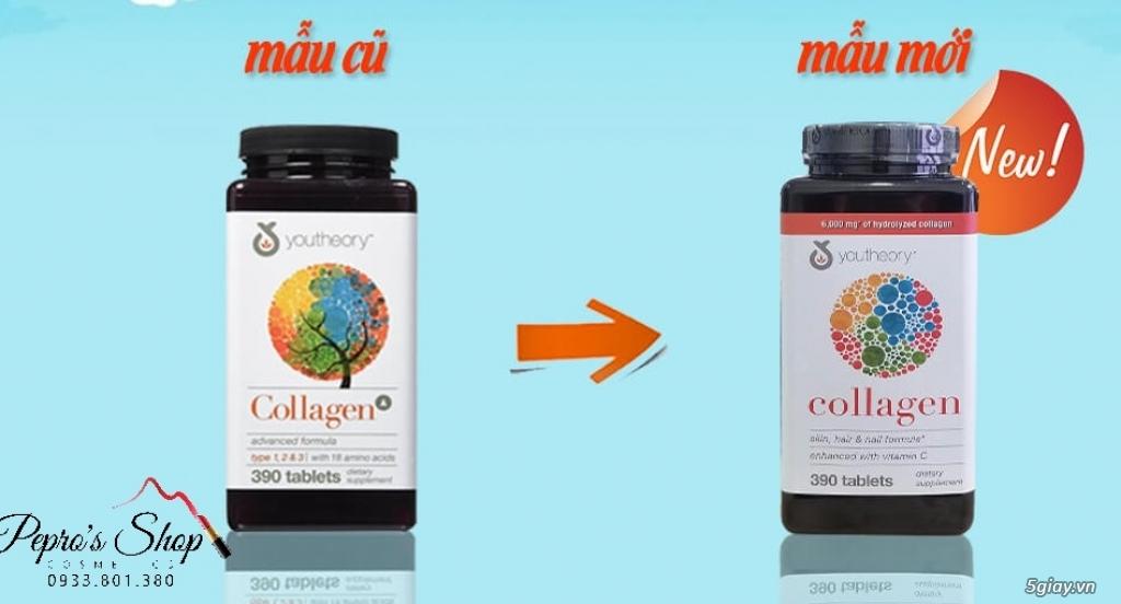 Viên Collagen Youtheory 390v ,Thuốc Nature Made Prenatal 150v mẫu mới - 3