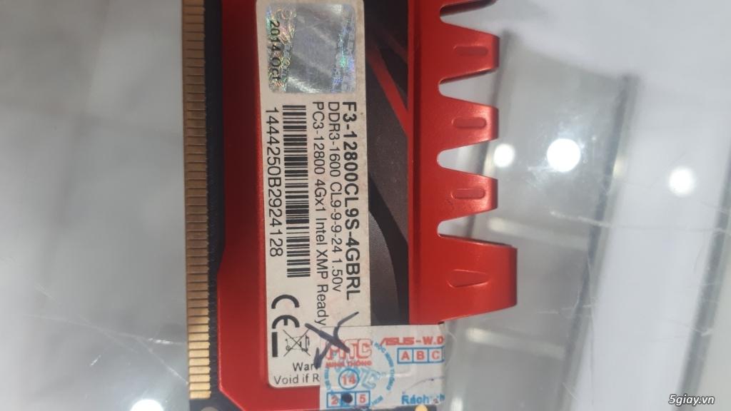 Ram 4gb/1600 và Nguồn Acbel 350w