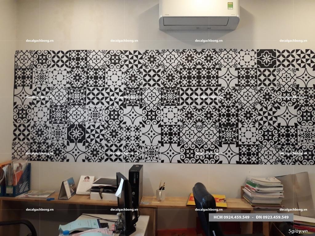 Decal gạch bông giải pháp trang trí cho người bận rộn