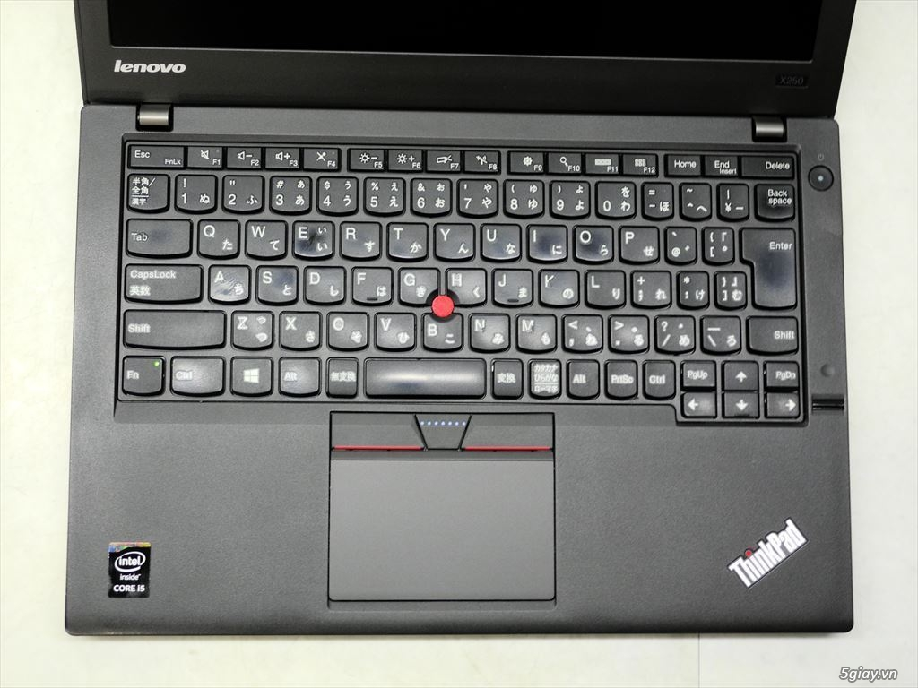 LENOVO THINKPAD X250 ( Core i5 5300U–Ram 4GB–SSD 240GB) - 1
