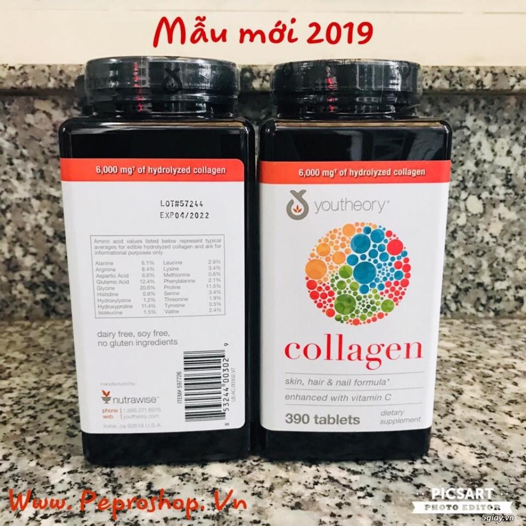 Viên Collagen Youtheory 390v ,Thuốc Nature Made Prenatal 150v mẫu mới - 2