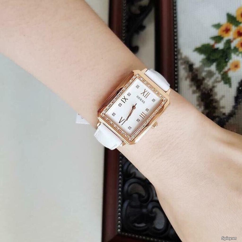 Đồng hồ Guess chipu 2 màu đen trắng - 1