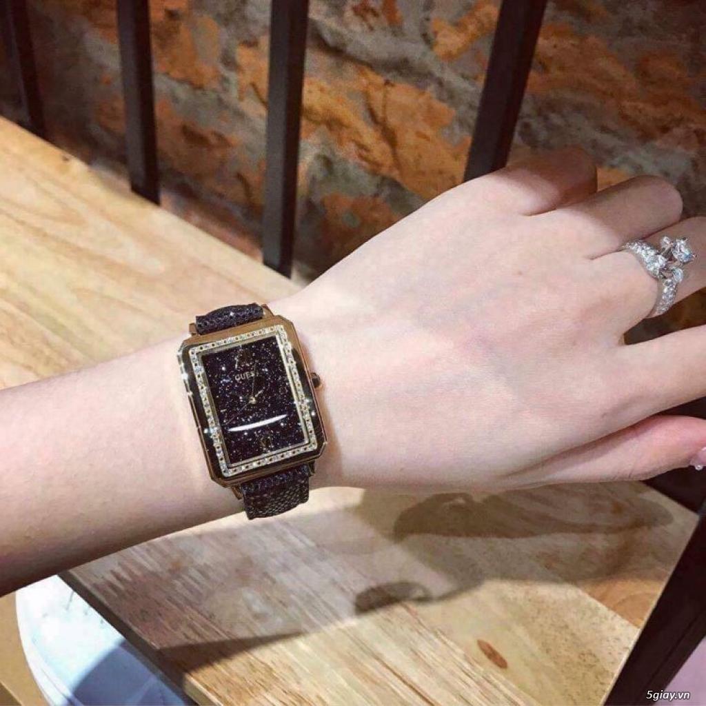Đồng hồ Guess chipu 2 màu đen trắng - 3